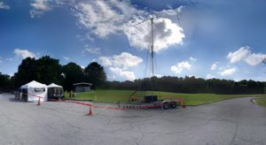 HAM Radio Tower at Field Day 2016
