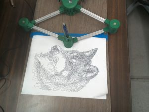 DrawingMachine-Wolf